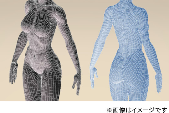 3Dボディグラフィカ
