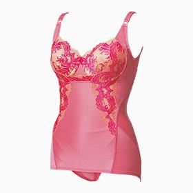 フルカップボディスーツ(curvaceous pink カーヴィシャスピンク(限定))