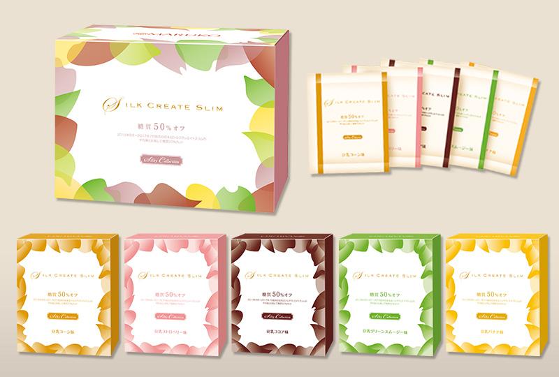 Silk Create Slim シルククリエイトスリム 糖質50%オフ