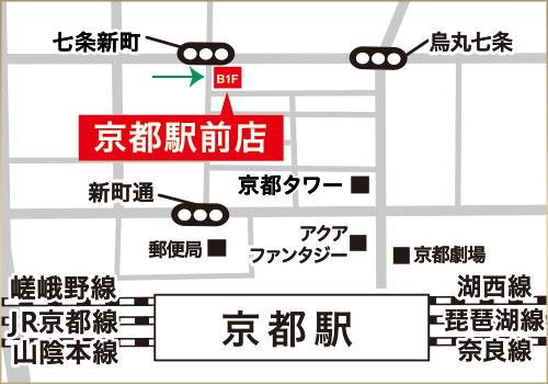 マルコ京都駅前店MAP