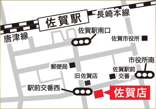 マルコ佐賀店MAP