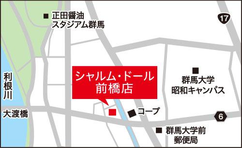 マルコシャルム・ドール前橋MAP